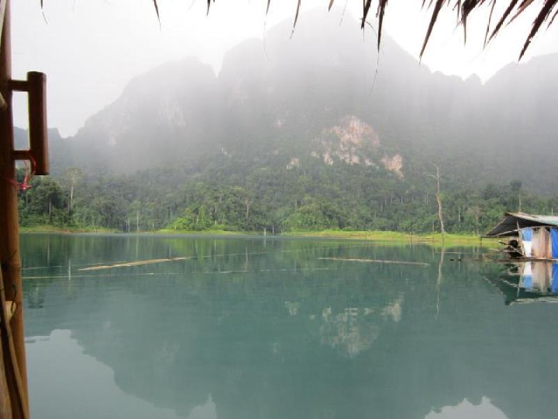 Misty morning in Kao Sok