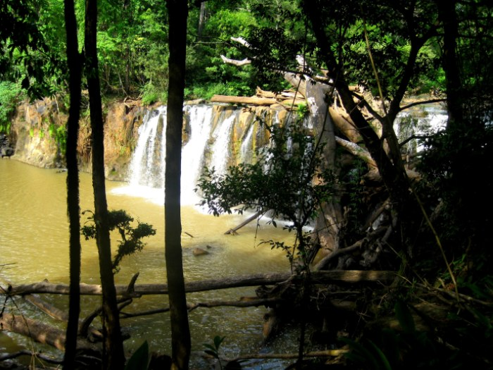 The elusive waterfall!