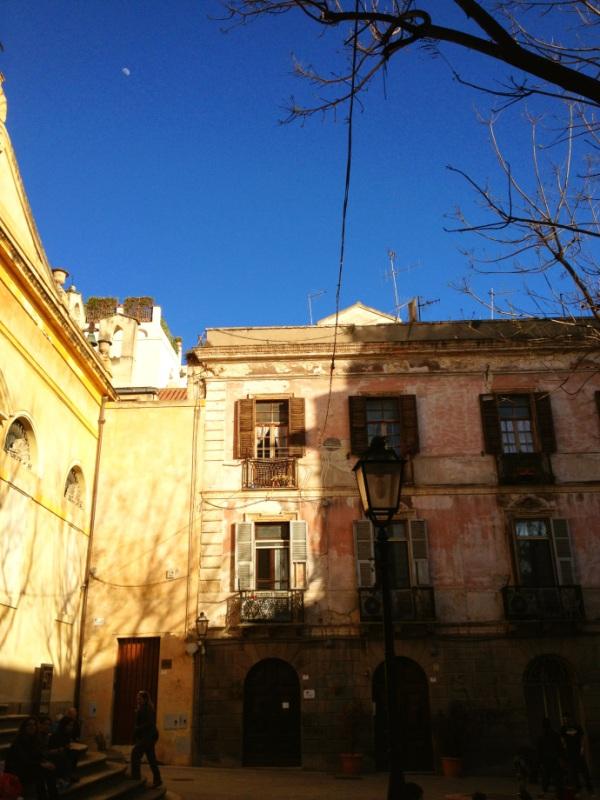 Piazza San Sepolcro Cagliari