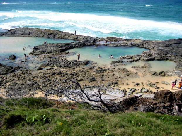 The incredible Champagne pools