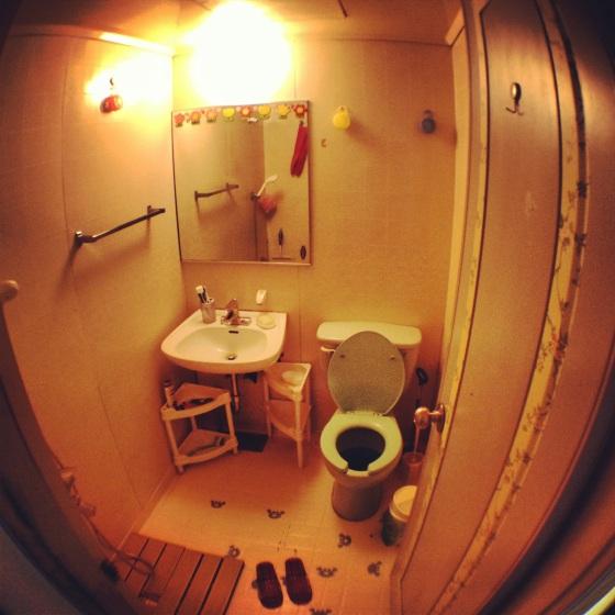 My not too shabby bathroom!